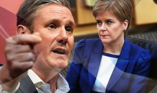 Sturgeon's 'poisonous' independence dream in tatters as Labour rule out vote under Starmer