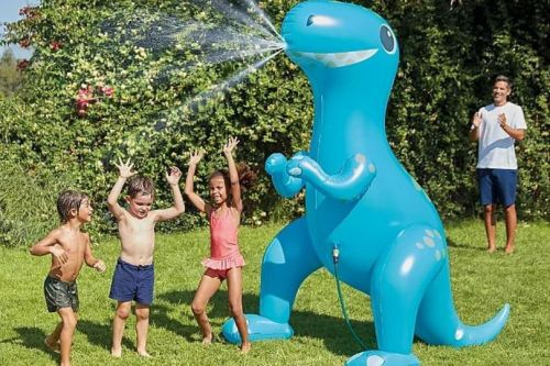 Asda discounts dinosaur sprinkler toy to just £25 right in time for heatwave