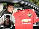 Daniel James's grueling work-outs in Dubai ahead of Manchester United bow