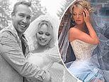 Pamela Anderson ties the knot with her bodyguard in intimate Christmas Eve ceremony