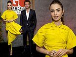 Lily Collins and Robert Pattinson play host for GO Campaign virtual fundraiser as ambassadors