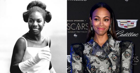 Zoe Saldana apologises for playing Nina Simone with darkened skin and prosthetic nose in biopic