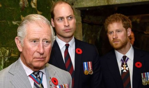 Prince William and Prince Charles 'did not take Harry's suggestion to step down seriously'