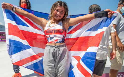 Girl power: Why Sky Brown's hugs and smiles at the Olympic skatepark are exactly what sport needs