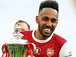 Pierre-Emerick Aubameyang wins Arsenal Player of the Season with 74 per cent of the votes