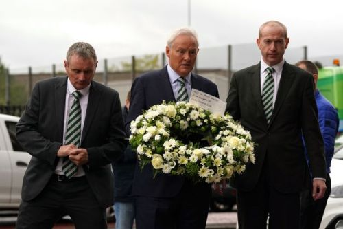 Walter Smith honoured by Celtic as Tom Boyd joins club chiefs at Ibrox to remember Rangers great