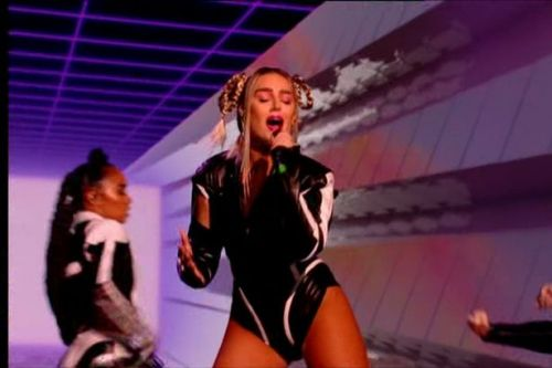 Perrie Edwards tears spine in horror injury ahead of Little Mix new album launch