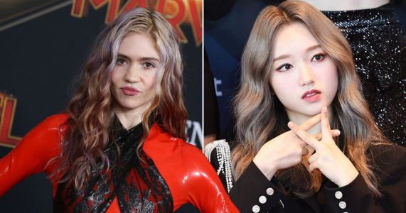 Grimes claims Go Won from K-pop group LOONA is 'godmother' to baby son X Æ A-12