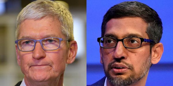 The DOJ antitrust lawsuit against Google could pose a risk to Apple's valuation, analyst says