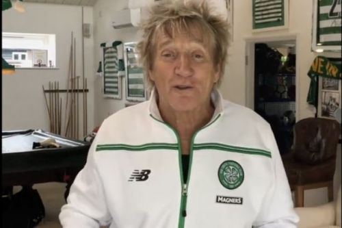 Rod Stewart pays tribute to beloved Celtic football team on new album