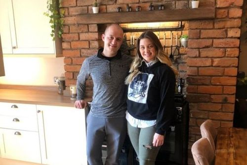 Couple, both 23, transform 'grubby' one-bed apartment into stylish home for £4k
