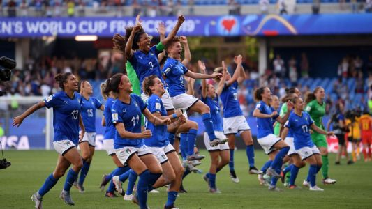 Italy beat China to continue stellar WWC run