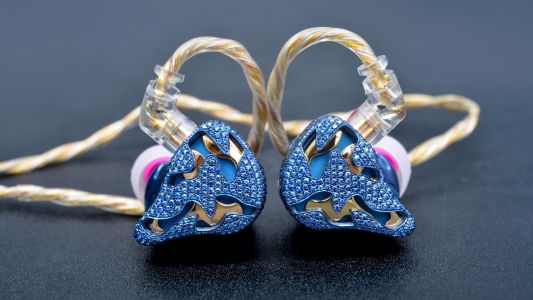 Blue Dragon by qdc: almost certainly the world's most expensive in-ears