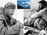 Everest pioneers packed 15,000 CIGARETTES to scale world's highest peak despite low oxygen