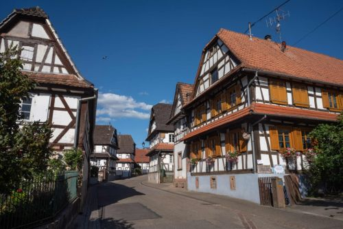 The beautiful French village of Hunspach has been voted the country's favourite
