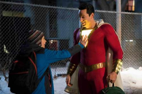 DCEU dominates Official Film Chart this week as Shazam takes the top spot