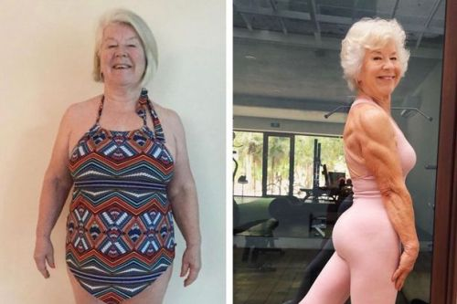 Gran who started lifting weights at 70 sheds 5 stone and is fitter than ever
