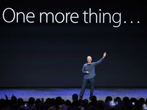 Tim Cook keeps talking about why this one technology will 'pervade' our lives in the future