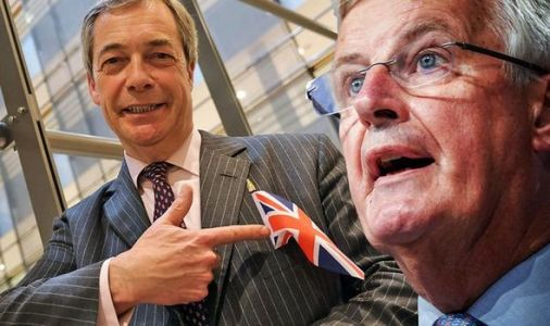 Barnier lifts the lid on what he REALLY thinks about Nigel Farage and a bizarre job offer