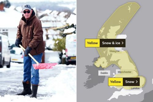 UK weather: Snow hits Britain as White Thursday starts 3 days of Met Office warnings