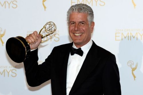 Anthony Bourdain wins posthumous Emmy award more than a year after his death