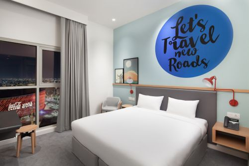 A Very Slick New Hotel Is Opening At City Walk
