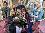 Coronation Street's Lucy Fallon says a tearful goodbye after filming her final scenes