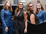 Brooke Shields, 56, and lookalike daughter Grier Henchy, 15, at Ferragamo's Milan Fashion Week show
