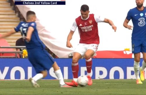 : Mateo Kovacic given ridiculous second yellow