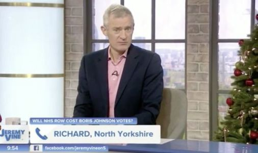 Jeremy Vine stunned as furious voter vows to turn back on Labour and back Boris Johnson
