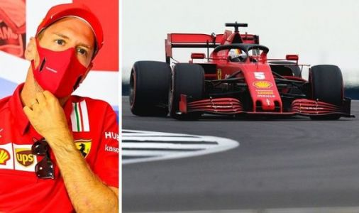 Sebastian Vettel in damning Ferrari admission after 70th Anniversary Grand Prix qualifying
