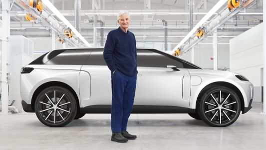 Dyson shows off its canceled electric car for the first time