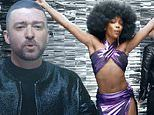 Justin Timberlake 'really proud of' futuristic music video The Other Side featuring disco doll SZA