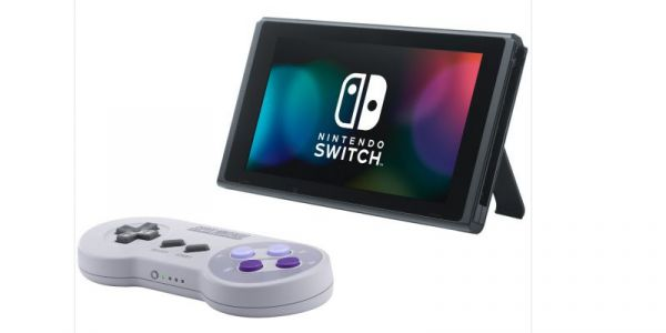 Nintendo is releasing a replica of the Super Nintendo controller for the Nintendo Switch, and pre-orders are already selling out