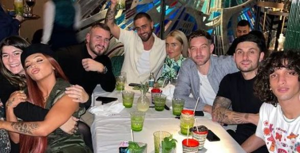 Jesy Nelson enjoys boozy night out to celebrate Boyz release and thanks fans for support after blackfishing drama