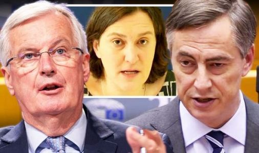 Barnier panics as MEPs threaten to VETO Brexit deal over delay - 'We will have final say!'