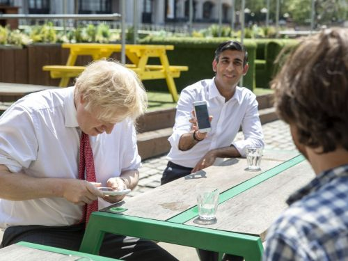 Rishi Sunak's 'Eat Out to Help Out' Campaign Is a £10 per Head Voucher
