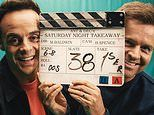 Ant and Dec share a behind-the-scenes glimpse of Saturday Night Takeaway filming