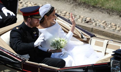 No one caught Meghan Markle's royal wedding bouquet - here's why