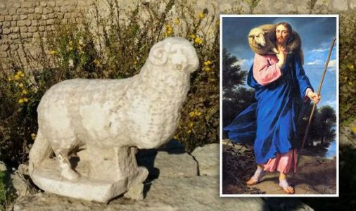 Archaeology news: 'Amazing statue' of ram representing Jesus Christ discovered in Israel
