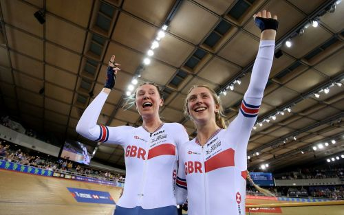 Britain finish on high with golden double at UCITrack World Cup