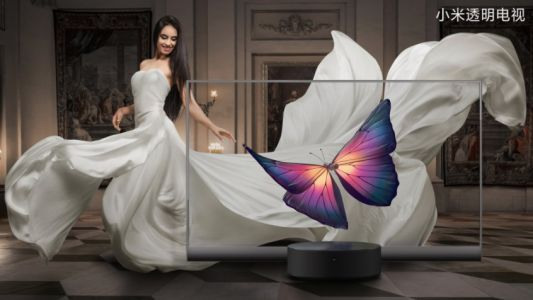 Xiaomi Mi TV Lux Transparent Edition: the world's first mass-made see-through TV
