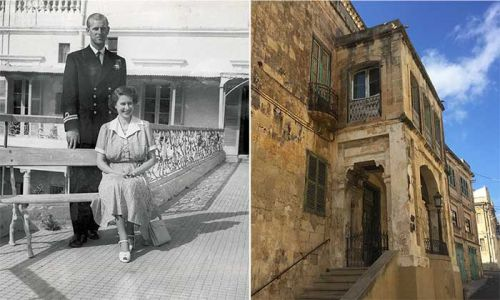 Inside the Queen's stunning Maltese home as it opens as museum
