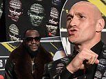 Tyson Fury repeats vow to KO Deontay Wilder as he wears ANOTHER extravagant suit