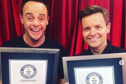 Ant and Dec awarded Guinness World Record after controversial NTA win