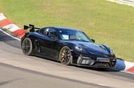 Porsche 718 Cayman GT4 RS mules hit the Nurburgring