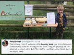 Twitter rallies to help five-year-old who had money from his rural 'honesty shop' stolen