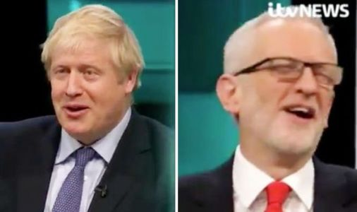 Boris Johnson's Brexit Christmas gift for Jeremy Corbyn sends audience into hysterics