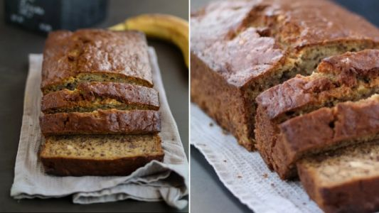 Easy banana bread with things you can substitute if you don't have all the ingredients