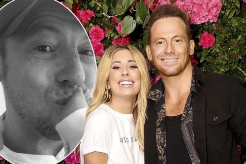 Joe Swash reveals newborn baby with Stacey Solomon is a BOY: 'Good morning son'